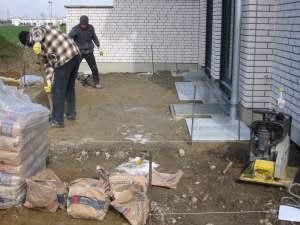 pallakies bau kaarst terrasse plattierung. Black Bedroom Furniture Sets. Home Design Ideas